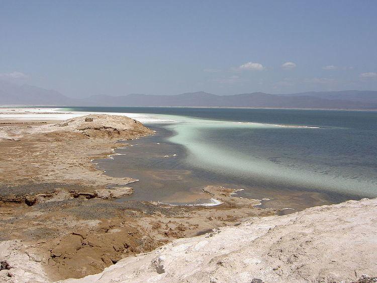 Hypersaline lake