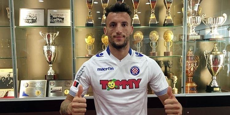 Hysen Memolla Hysen Memolla i slubeno Hajdukov HNK Hajduk Split