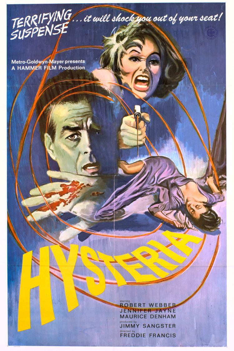 Hysteria (1965 film) wwwgstaticcomtvthumbmovieposters19561p19561