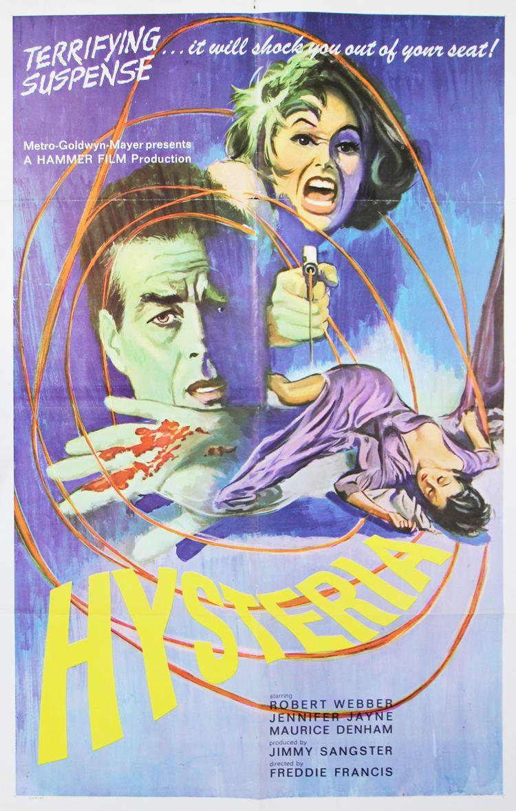 Hysteria (1965 film) Hysteria 1964 HORRORPEDIA