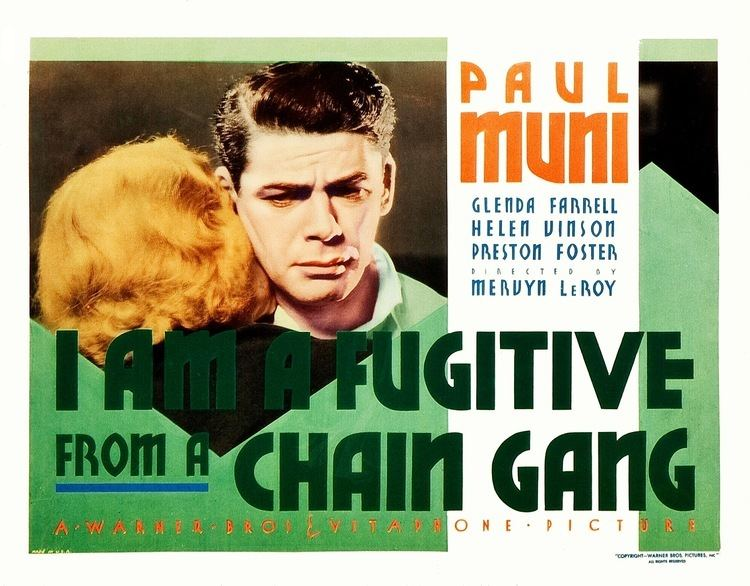 I Am a Fugitive from a Chain Gang PreCode Essentials I Am a Fugitive From a Chain Gang 1932 The