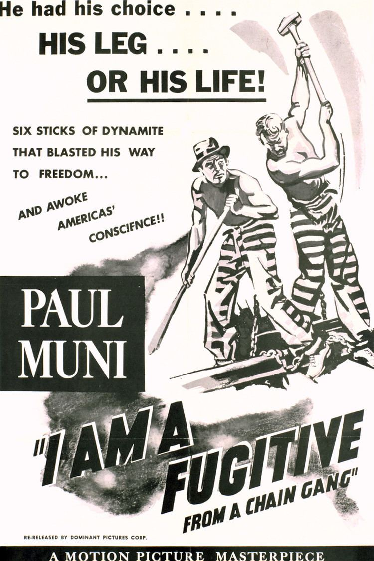 I Am a Fugitive from a Chain Gang wwwgstaticcomtvthumbmovieposters3517p3517p