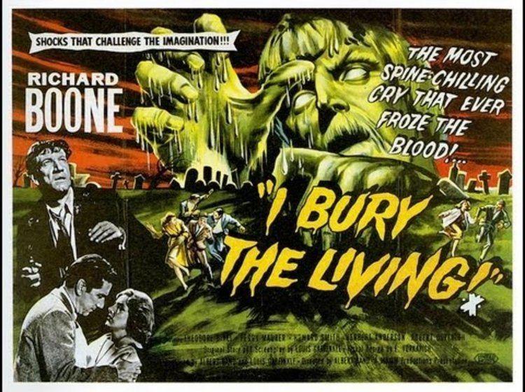 I Bury the Living Pulp Serenade Happy Birthday Richard Boone I Bury The Living 1958