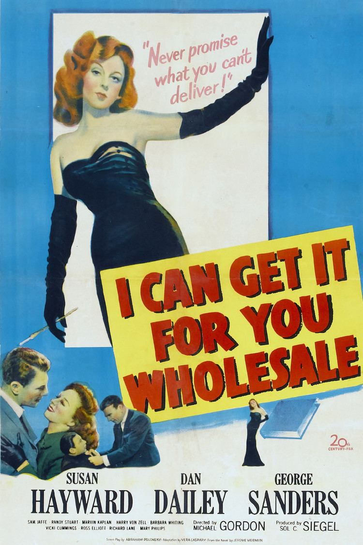 I Can Get It for You Wholesale (film) wwwgstaticcomtvthumbmovieposters6292p6292p