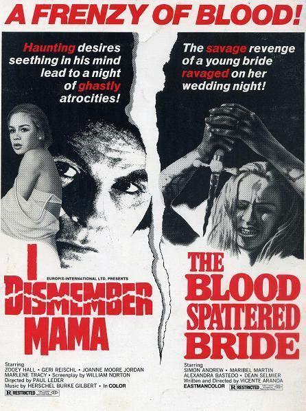 I Dismember Mama Poor Albert and Little Annie aka I Dismember Mama 1972 HORRORPEDIA