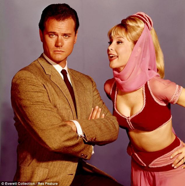 I Dream of Jeannie Barbara Eden 78 back into her I Dream of Jeannie croptop and