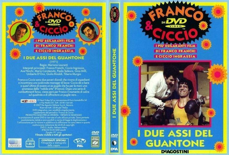 I due assi del guantone Copertina dvd Franco E Ciccio I Due Assi Del Guantone cover dvd