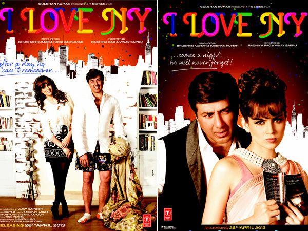 I Love NY (2015 film) Movie Review Sunny DeolKangana Ranaut39s 39I Love NY39 is outdated