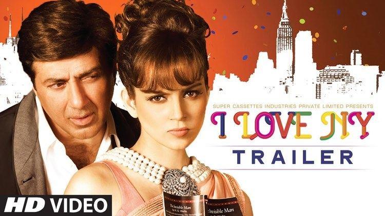 I Love NY (2015 film) I Love NY39 Official Trailer Sunny Deol Kangana Ranaut TSeries