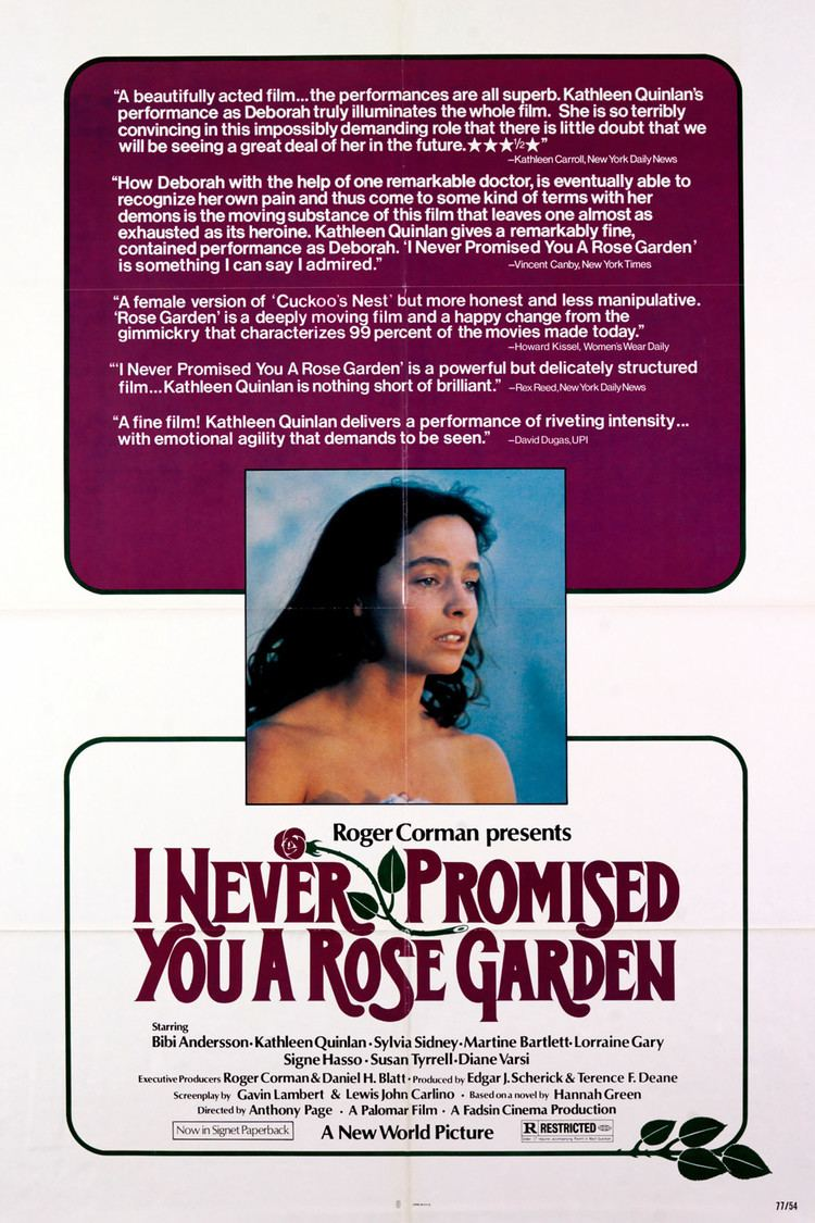 I Never Promised You a Rose Garden (film) wwwgstaticcomtvthumbmovieposters38549p38549