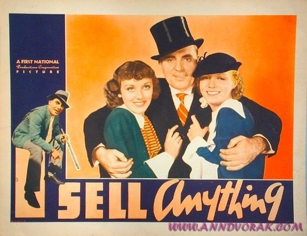 I Sell Anything I Sell Anything 1934 Once upon a screen