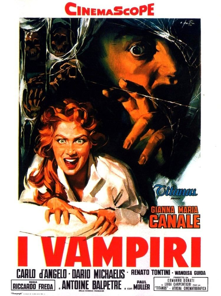 I Vampiri Poster for The Vampires I vampiri aka Lust of the Vampire aka The