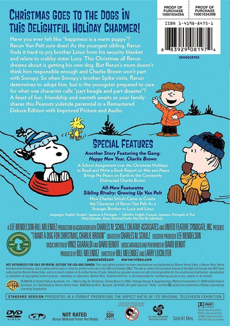 I Want a Dog (film) Amazoncom Peanuts I Want a Dog for Christmas Charlie Brown