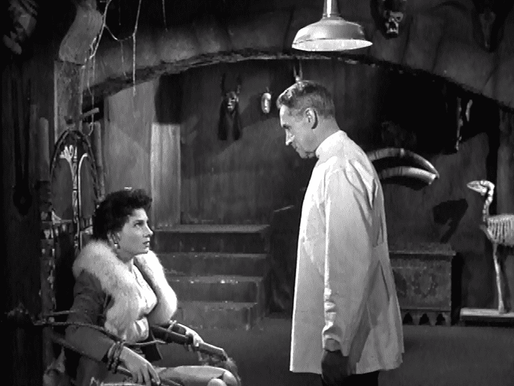 I Was a Teenage Frankensteins Roommate movie scenes  among them I WAS A TEENAGE FRANKENSTEIN BLOOD OF DRACULA It s available on DVD in the Midnight Movie series in a double feature with Boris Karloff s