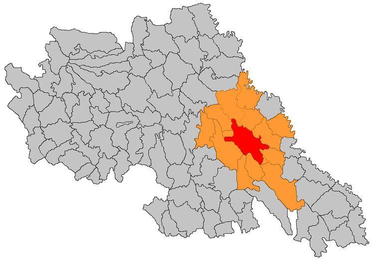Iași metropolitan area