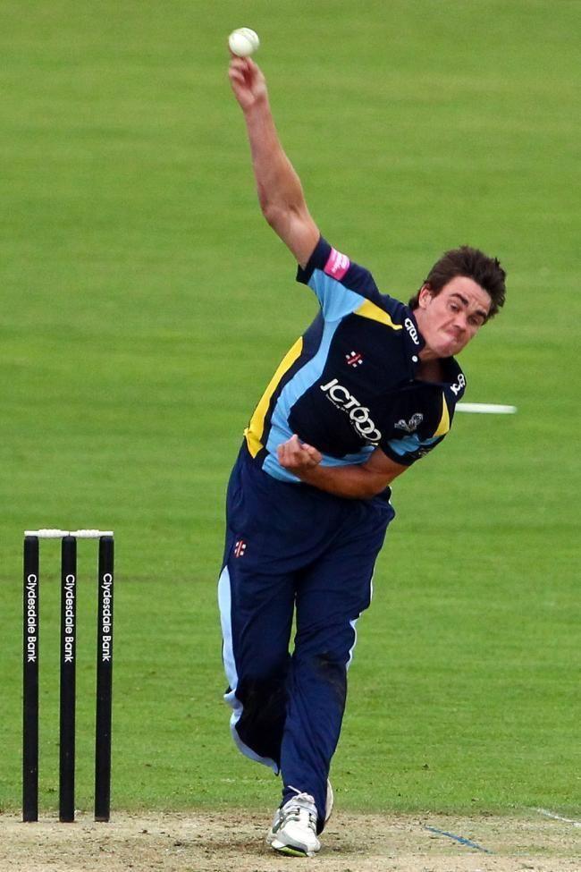 Scotland seamer Iain Wardlaw targets former Tykes teammate Joe Root