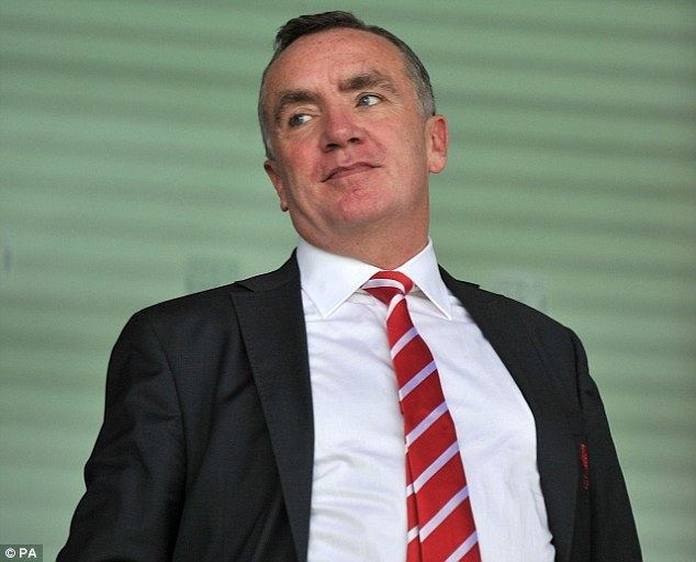 Ian Ayre (tennis) Liverpool chief executive Ian Ayre to leave Anfield when his