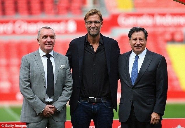 Ian Ayre (tennis) Liverpool FC chief exec Ian Ayre says fan investment worth looking