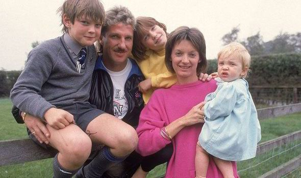 Ian Botham (Cricketer) family