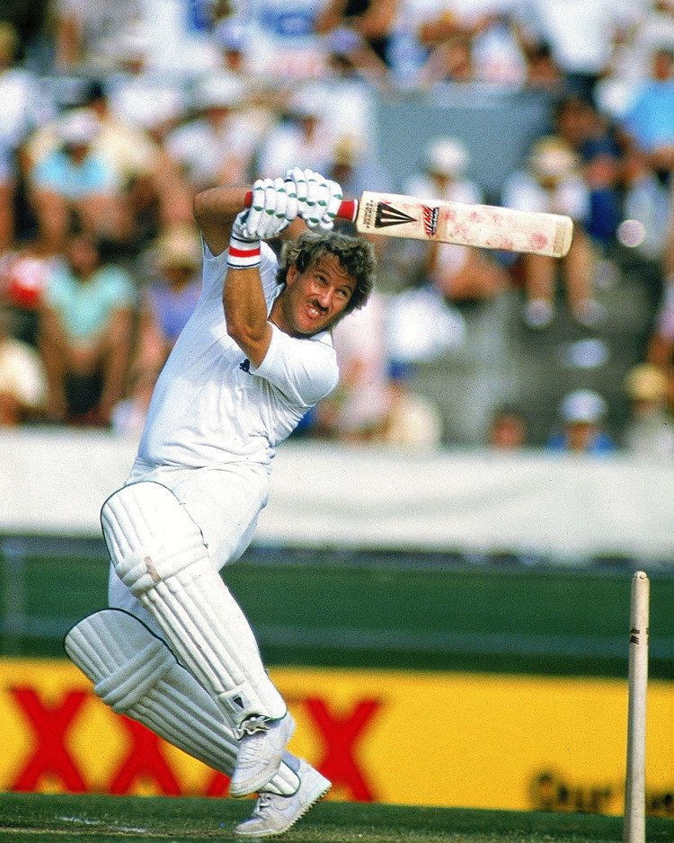 Ian Botham (Cricketer) playing cricket