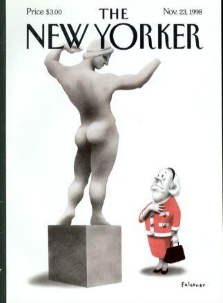 Ian Falconer Cover Story Ian Falconer39s New York Lady The New Yorker