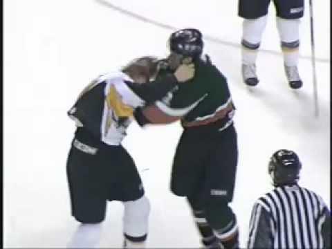 Ian Forbes (ice hockey) Ian Forbes vs Steve Lecuyer hockey fight 21506 YouTube