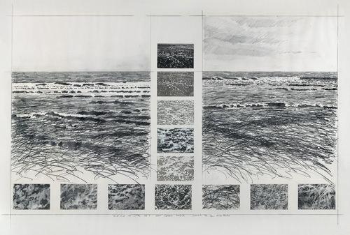 Ian McKeever (artist) Ian McKeever b 1946 Sand and Sea Series No 8 Victor