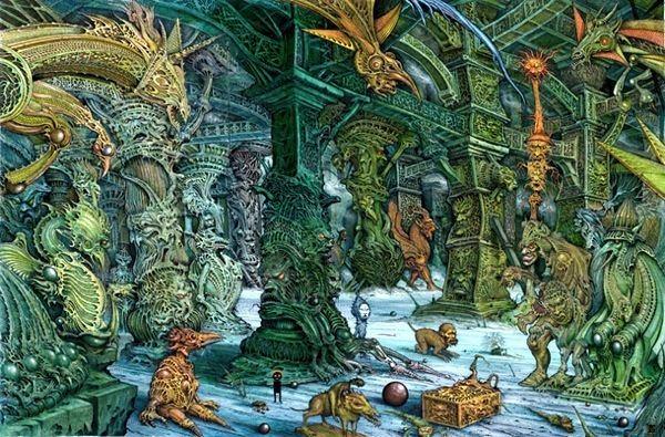 Ian Miller (illustrator) The Art of Ian Miller John Guy Collick