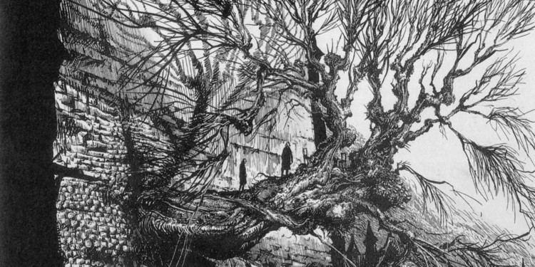 Ian Miller (illustrator) Ian Miller39s AweInspiring FantasyHorror Book Art IMAGES
