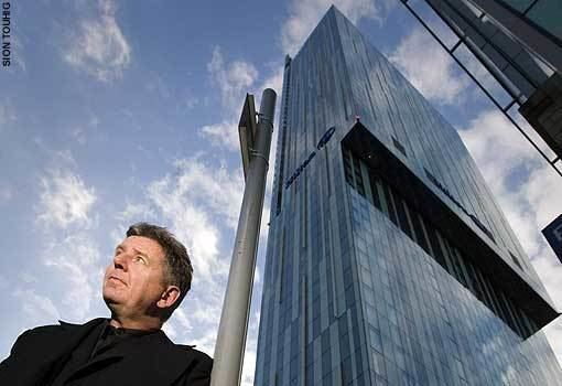 Ian Simpson (architect) Beetham Hilton Tower video interview with Ian Simpson