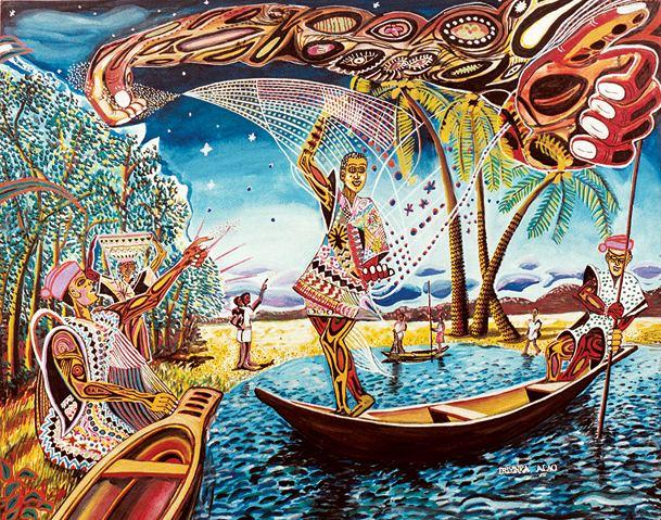 Ibiyinka Alao UN Art Ambassador Shares Stories Through His Work The Crown