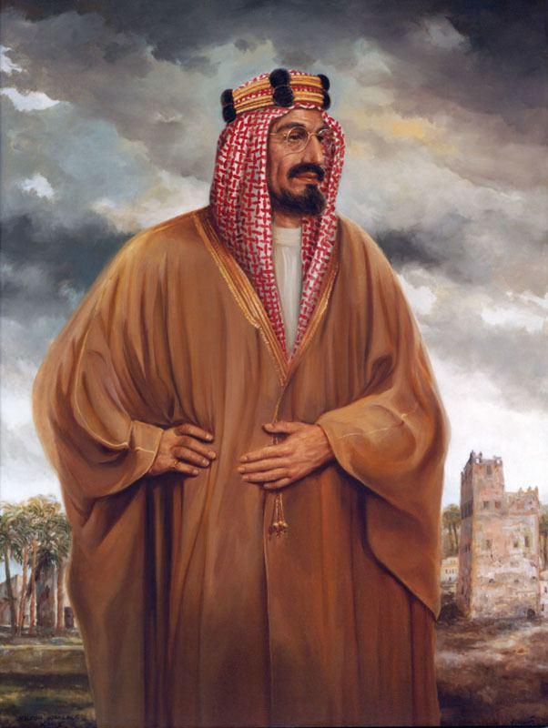 Ibn Saud King Ibn Saud The Art of Joseph Wallace King Vinciata