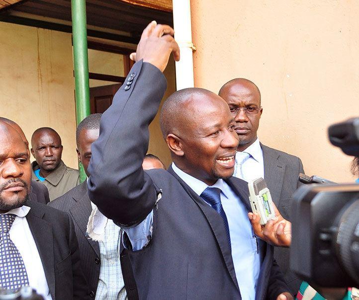 Ibrahim Ssemujju Nganda Police arrest Besigye attack journalists