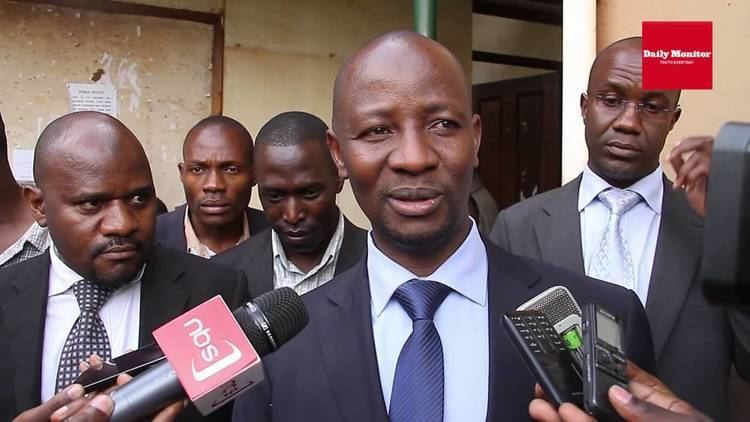 Ibrahim Ssemujju Nganda Ibrahim Ssemujju Nganda on his arrest this morning YouTube