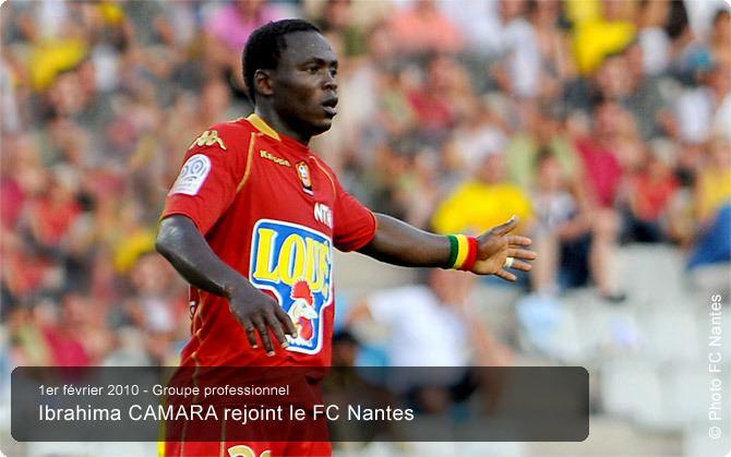 Ibrahima Camara FC Nantes Ibrahima Camara rejoint le FC Nantes