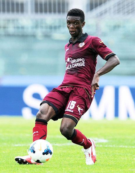 Ibrahima Mbaye Ibrahima Mbaye Photos AS Livorno Calcio v Calcio Catania