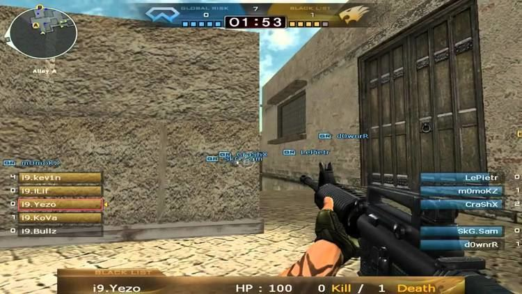 Ice Nine (video game) Crossfire CF Stars EU Qualifier Finals IceNine vs orKs on Mexico
