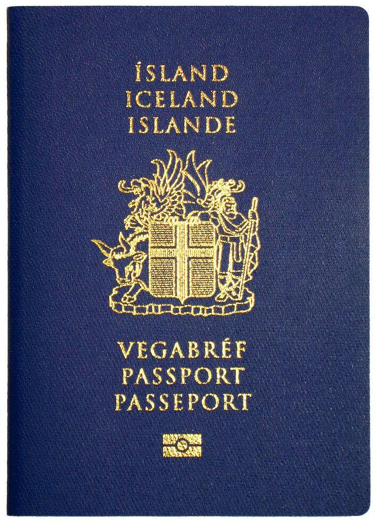 Icelandic passport