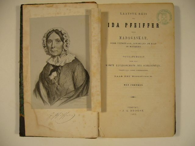 Ida Laura Pfeiffer Outstanding Women A Ladys Voyage Around The World Ida Pfeiffer