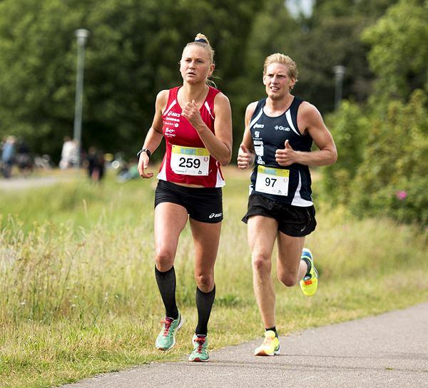 Ida Nilsson Sparven jagade Therse som vann Kalmar Malkars Spring Lpning