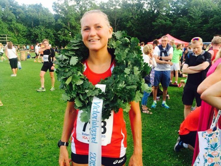 Ida Nilsson 35ringen slog rekord Ida Nilsson vann damklassen 24kalmarse