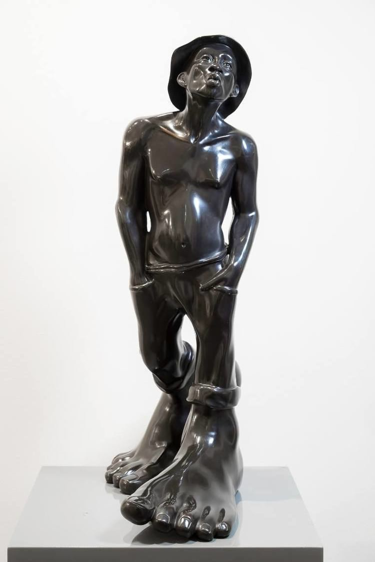 Idan Zareski Saatchi Art Le Siffleur Sculpture by Idan Zareski