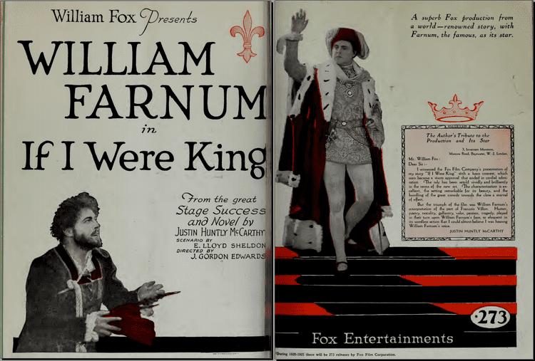 If I Were King (1920 film) If I Were King 1920 film Wikipedia