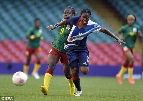 Ifeoma Dieke London 2012 Olympics Ifeoma Dieke injured and out of Team GB