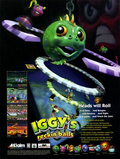Iggy's Reckin' Balls VCampG Retro Scan of the Week Iggy39s Reckin39 Balls