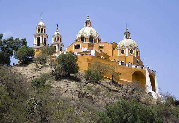 Iglesia de Nuestra Señora de los Remedios (Mexico) Iglesia de Nuestra Seora de los Remedios de Cholula Mxico