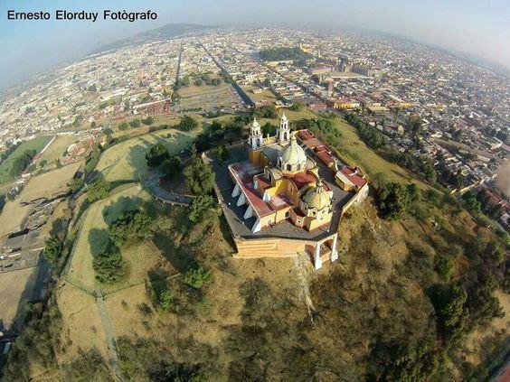 Iglesia de Nuestra Señora de los Remedios (Mexico) Maravillosa fotografa de la Iglesia de Nuestra Seora de los