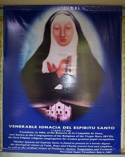 Ignacia del Espíritu Santo Venerable Ignacia del Espiritu Santo 16631748 born and di Flickr