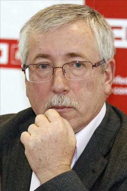 Ignacio Fernández Toxo El secretario general de CCOO Ignacio Fernndez Toxo EFEArchivo