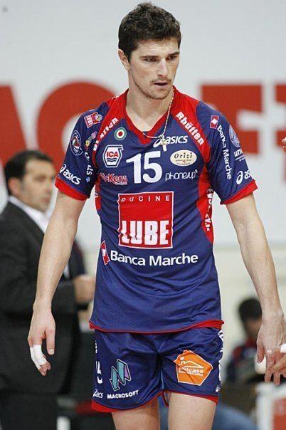 Igor Omrčen Hot Volleyball Player Igor Omrcen